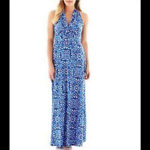 EVAN PICONE Black Label Maxi Dress Sz. 16 NWT